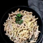 Vegan white pesto, 10 minutes, gluten-free, soy-free