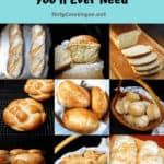 All the bread recipes you'll ever need