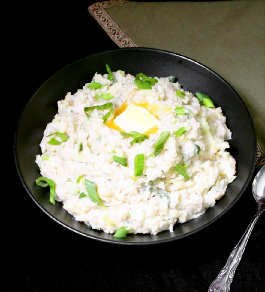 Put a tasty twist on your Vegan Colcannon this St. Patrick's Day by stirring in a spot of sauerkraut into this creamy potato mash. You'll be wishing you made more.