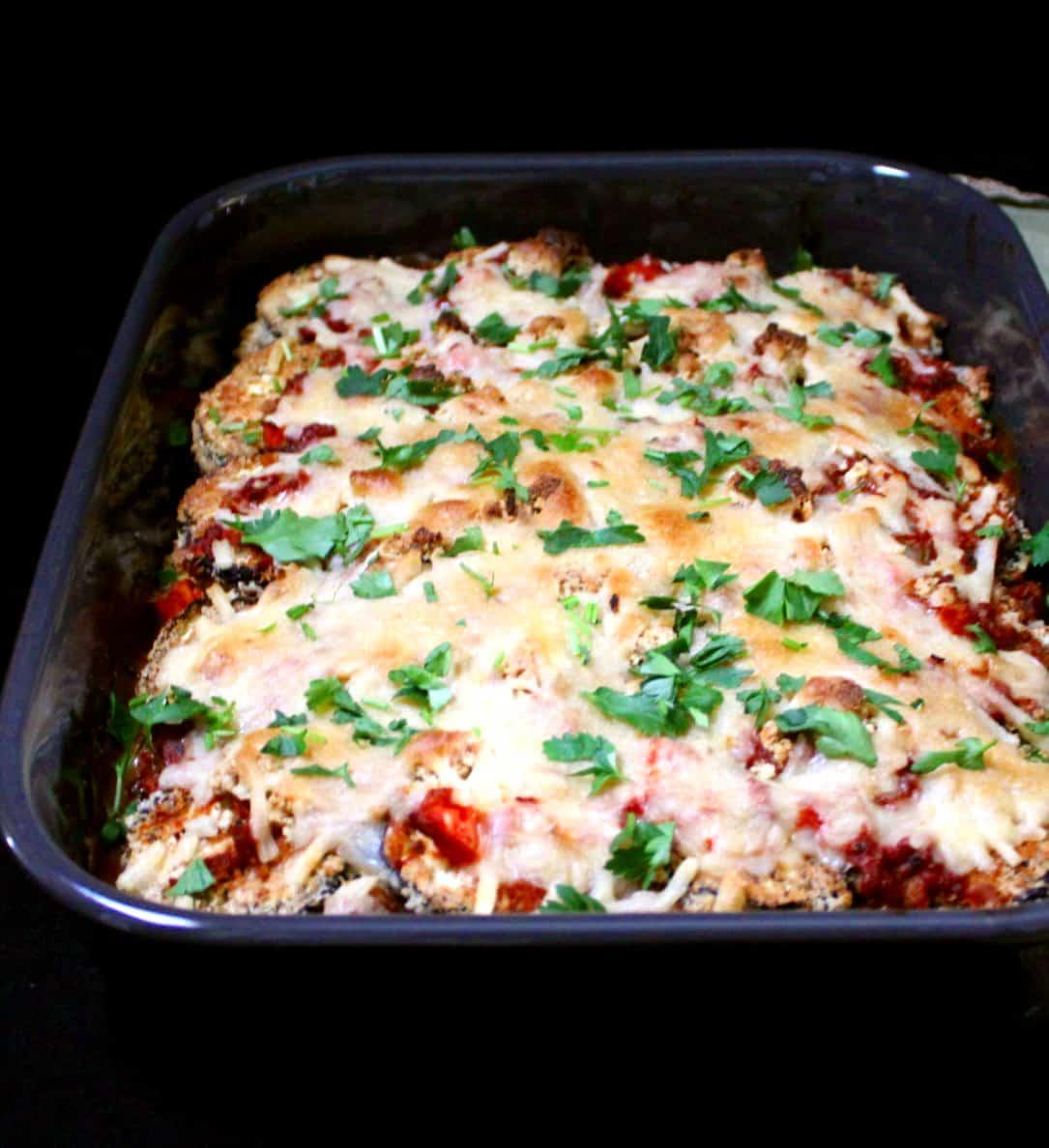 Vegan Eggplant Parmesan recipe