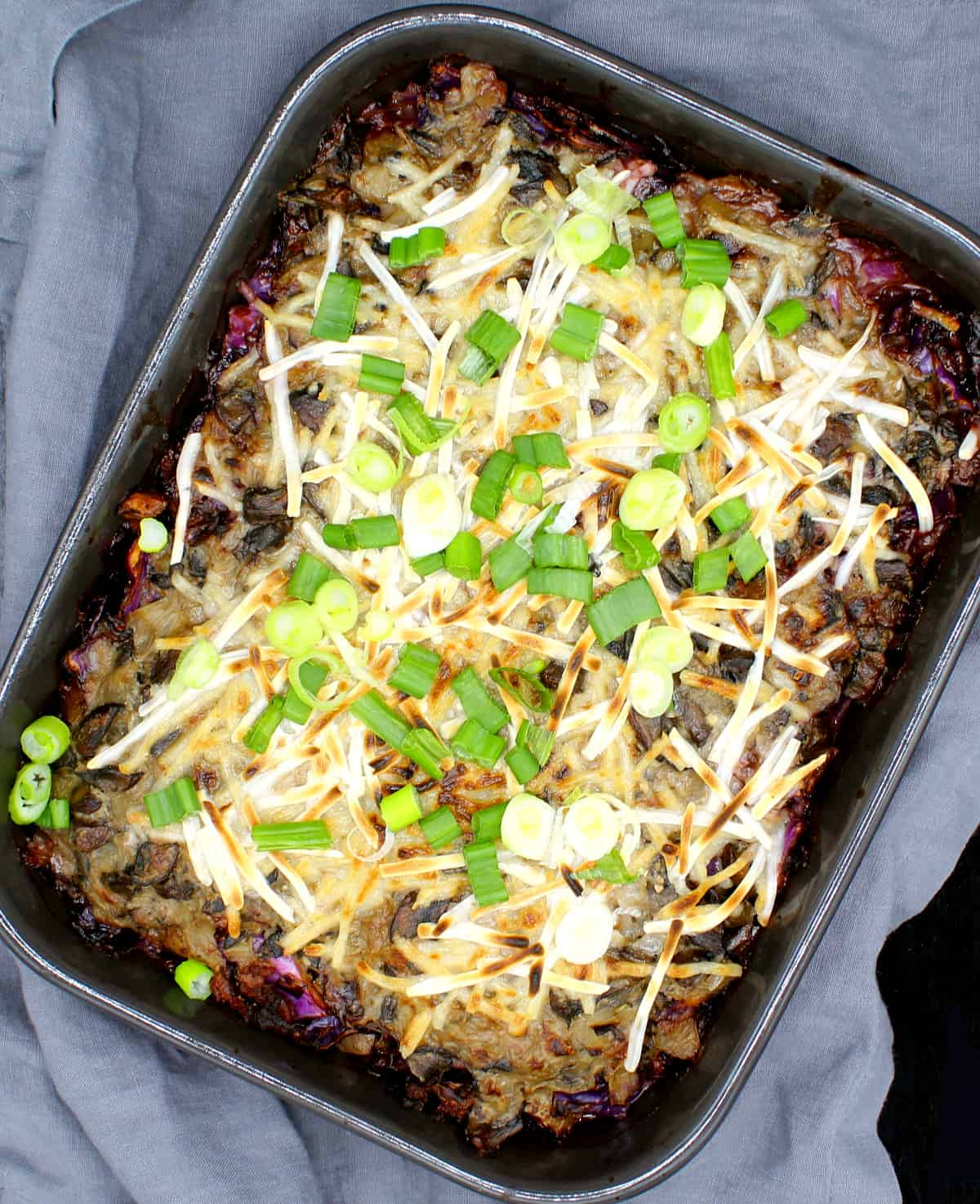 Vegan Cabbage Casserole Holy Cow Vegan Recipes