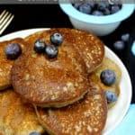 Vegan Gluten-Free Coconut Flour Pancakes