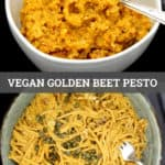 Vegan Golden Beet Pesto