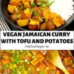 Vegan Jamaican Curry with Tofu and Potatoes
