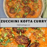 Zucchini Kofta Curry pin