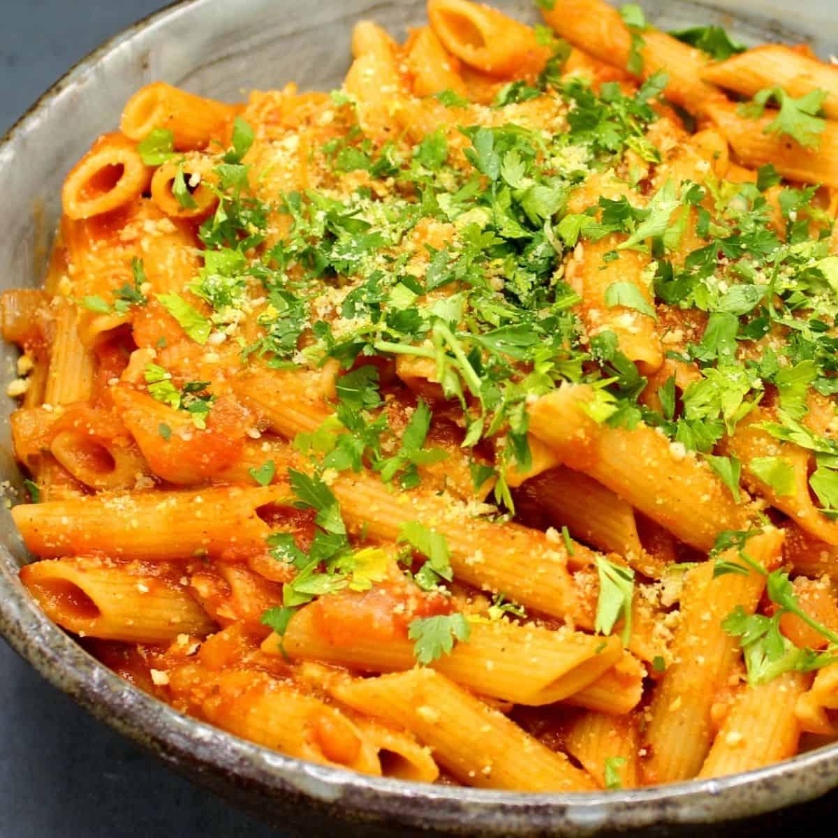 Ricetta Amatriciana Max.Vegan Pasta Amatriciana Holy Cow Vegan Recipes