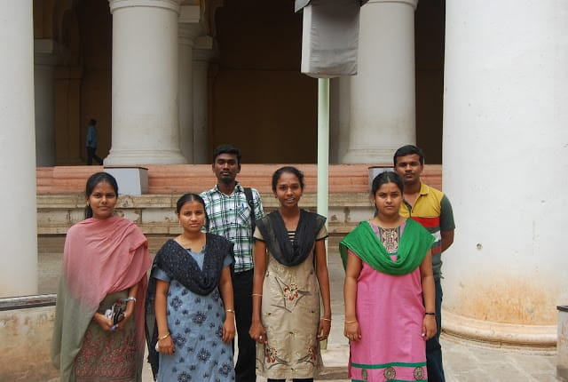 Photo of Madurai college students