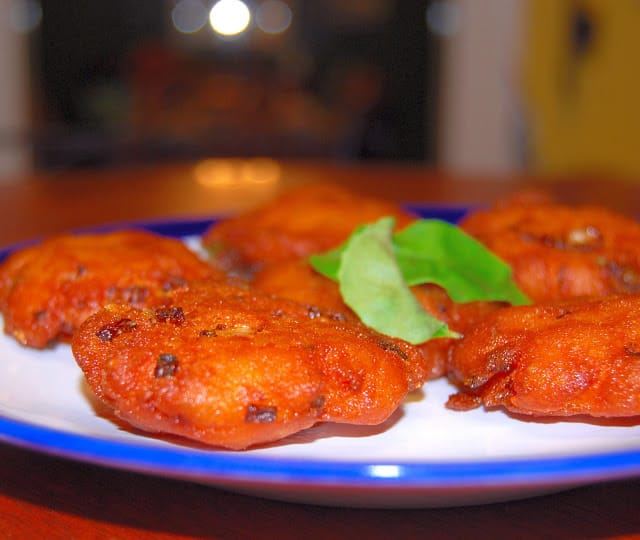 Photo of crispy south Indian potato vada