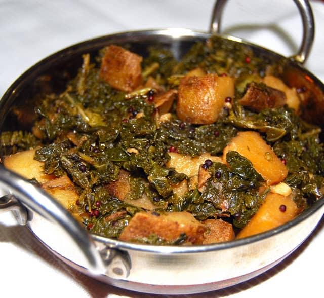 Photo of Kale Potato Sabzi