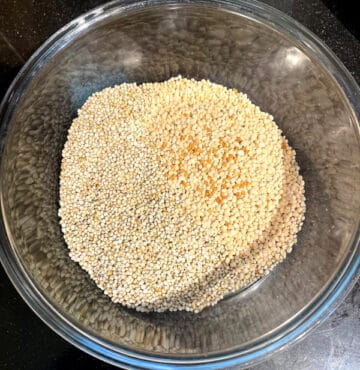 Ingredients for sorghum dosa
